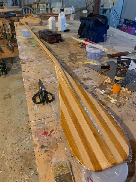 Making a SUP Paddle