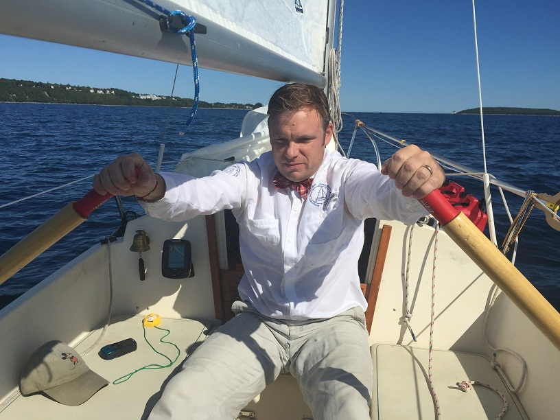 Rowing to Mackinac Island