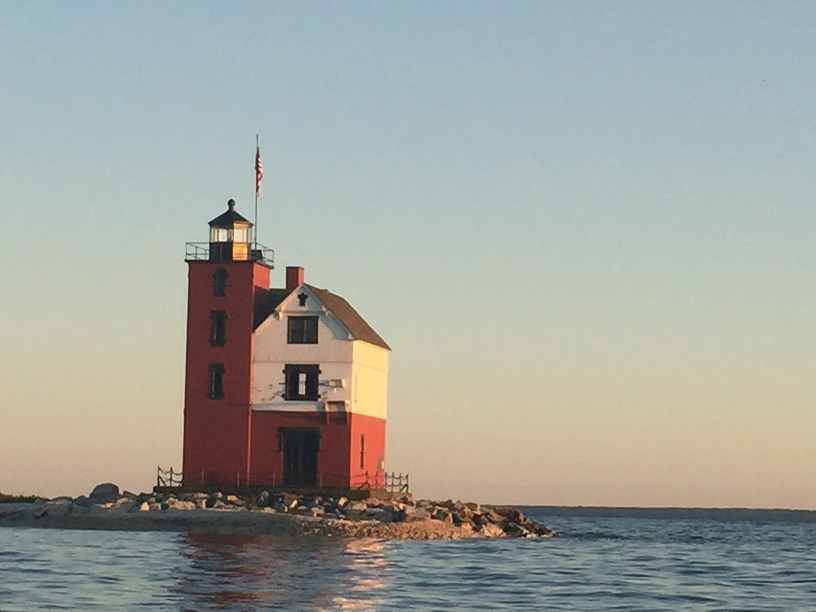 Round Island Lighthouse, Lake Huron